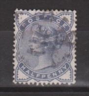 Engeland United Kingdom, Great Britain, Angleterre, Queen Victoria, SG 187, Y&T 76, MICHEL 72 Used - 1840-1901 (Victoria)
