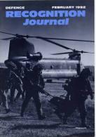 Revue Recognition Journal - Février 1992 - Magazines & Papers