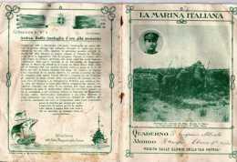 QUADERNO-FASCISMO-LA MARINA ITALIANA-1931-ANDREA BAFILE-TRINCEE DEL BASSO PIAVE - Non Classificati