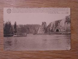 YVOIR Bâteau Mouche La Roche Aux Corneilles Et Le Tunnel Province De Namur CPA Carte Postale Post Card - Yvoir