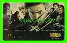 TÉLÉCARTES, THAILANDE - CINÉMA, FILM, X-MEN2 - 06/2005 - PHONECARDS - - Cinema