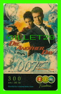 TÉLÉCARTES, THAILANDE - CINÉMA, FILM, DIE ANOTHER DAY 007 - 12/2004 - PHONECARDS - - Cinéma