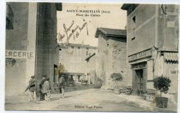 38 - SAINT MARCELLIN - Place Des Carmes - Saint-Marcellin