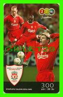 TÉLÉCARTES, THAILANDE - SPORTS, FOOTBALL (SOCCER) - CARLSBERG, LIVERPOOL CLUB - 12/2005 - PHONECARDS - - Sport