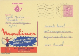 PUBLIBEL 2669°: ( MOULINEX ) : VROUW,FEMME,WOMAN,GOSSELIES, - Stamped Stationery