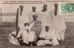 Cpa  Soudan , Madembu-si, Fama De Sansanding..rendit De Grands Services A L'epoque De L'occupation - Soudan