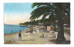 Cp, 06, Golfe Juan, La Plage, Voyagée 1957 ? - Other Municipalities