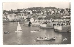 Cp, 14, Trouville - Deauville, Entrée Du Bassin Des Yachts, Voyagée 1954 - Trouville