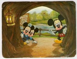 Postcard - Disney, Mickey Mouse - Disneyland