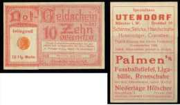 Germany Some Sort Of Bank Coupon, 10 Zehn, Inliegend. Very Interesting See Both Sides. - Germany