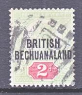 BRITISH BECHUANALAND  34 (o)  Wmk 30 - Bechuanaland (...-1966)