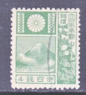 JAPAN  171a  OLD DIE  19 Mm  (o)   1922-1929 Issue - Japan