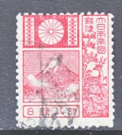 JAPAN  173  OLD DIE  19 Mm  (o)   1922-1929 Issue - Used Stamps