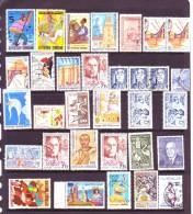 Lot De Plus De 30 Timbres Oblitérés - Tunisie (1956-...)