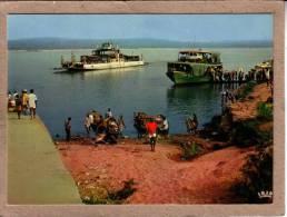NIGERIA - CPM - ASABA - 4089 - NIGER FERRIES - BAC ET BATEAU SUR LE NIGER - éditeur HOA-QUI - Nigeria