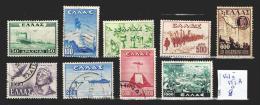 Grèce 543 à 552A Oblitéré  Côte 8 € - Usati