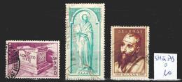 Grèce 571 à 573 Oblitéré  Côte 10 € - Usati