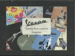 VES03 - SCATOLA ORIGINALE CONTENENTE 11 MAGNETI PUBBLICITA´ VESPA - Transport
