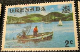 Grenada 1975 The Carenage Taxi 2c - Used - Grenade (1974-...)