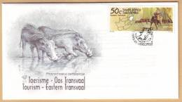D11053 South Africa 1995 WARTHOG Wild Pig FDC - Afrique Du Sud Afrika RSA Sudafrika - Unclassified