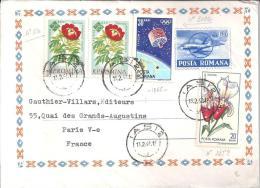 ROUMANIE - Lettre Du 13/02/67  N° 1820 - 2158 - 2092 - Marcofilia