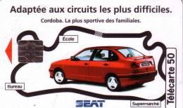 FRANCE PRIVEE 50U SEAT CORDOBA VERSO PSG FOOTBALL   EN 1026 UT - 50 Unità