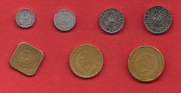 NETHERLAND ANTILLES, 7 Different Circulated Coins - Antillen (Niederländische)