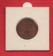 JAPAN,  Circulated Coin  10 Yen, Bronze VF, Km 73a - Japan