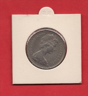 UK,  1969, Circulated Coin 10 Pence Copper Nickel, XF, Km912 - 1971-… : Decimal Coins