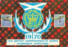 IX BRITISH COMMONWEALTH GAMES-EDINBURGH-1970 - Postales
