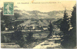 38/CPA - Villard De Lans Et Le Col Vert - Villard-de-Lans