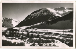 38 La Morte, L'Alpe Du Grand Serre, Le Parc D'auto Et La Vallée, CPSM-CPA Très Bon état, Rare - France