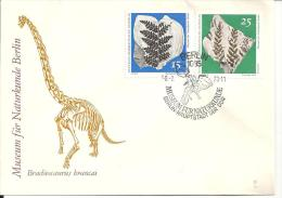 ALLEMAGNE - DDR -Fossiles - FDC -  N° 1520 - 1521 - Minéraux