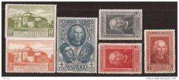 ES559-L4033TCEX.España Spain Espagne.lote DESCUBRIMIENTO DE AMERICA 2ª AEREA.1930.(Ed 559/4**) Sin Charnela.MAGNIFICA - Sellos