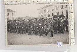 PO2321C# MILITARI - CASERMA NOVI LIGURE - GIURAMENTO ALPINI 1937   No VG - Caserme