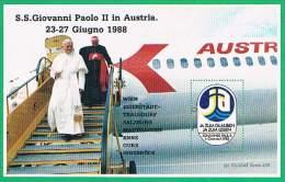 S.S. Giovanni Paolo II In Austria - Erinnofilia