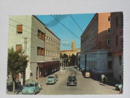 CHIETI - Via Asinio Herio E Grande Albergo - Auto - 1963 - Chieti