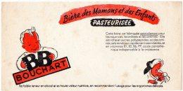 - BUVARD Bières BB Bouchart - 371 - Liqueur & Bière