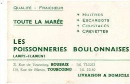 - BUVARD Les Poissonneries Boulonnaises LAMPE-FLAMENT - 372 - Lebensmittel