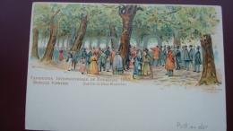 Précurseur 1897 - Exposition Internationale De BRUXELLES 1897 - Bruxelles Kermesse : Quartier Du Vieux BRUXELLES - Expositions