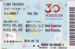 Disney Passeport Entreecard JAPON * TOKYO DISNEYSEA * Passport (1173) JAPAN * DISNEY * PASSPORT * - Disney