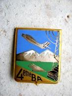 ANCIEN INSIGNE EMAILLE ARMEE DE L�AIR LA BA 136 LA 4� BA 4� BRIGADE AERIENNE DE BREMGARTEN ETAT EXCELLENT DRAGO PARIS