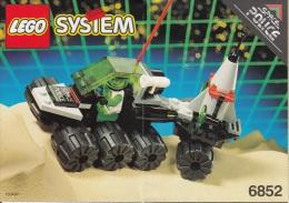 Lego 6852 Espace Police Sonar Securité Avec Plan 100 % Complet Voir Scan - Lego System