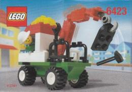Lego 6423 D�pannage avec plan 100 % Complet voir scan