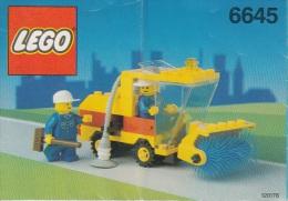 Lego 6645 Véhicule De Nettoyage Avec Plan 100 % Complet Voir Scan - Lego System
