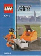 Lego 5611 L'�boueur avec plan 100 % Complet voir scan