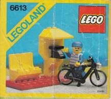 Lego 6613 T�l�phone publique avec plan 100 % Complet voir scan