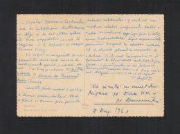 Romania Autograph Tudor Arghezi 1961 On Swiss Pc - Autogramme & Autographen