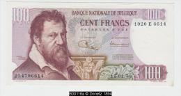 B00116 100 F. (66**1/2), Jordens Ansiaux, 15-01-1970 EF - [ 2] 1831-... : Royaume De Belgique