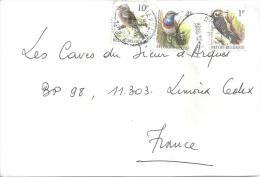 BELGIQUE - N° 3230 - 3221 - 3249 Sur Lettre - Sparrows